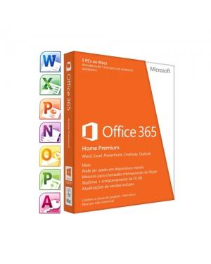 6GQ-00408FPPHW_S - Microsoft - Office 365 Home 32/64Bit
