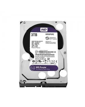 WD30PURZ - Western Digital - Disco Rígido 3TB Purple SATA 5400RPM