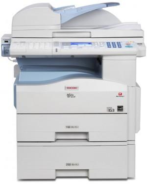 901986 - Ricoh - Impressora multifuncional Aficio MP 201SPF laser monocromatica 20 ppm A4 com rede