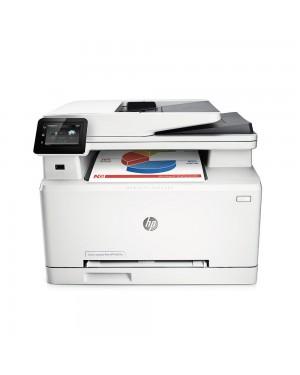 B3Q10A - HP - Impressora multifuncional LaserJet Color Pro MFP M277n laser colorida 18 ppm A4 com rede