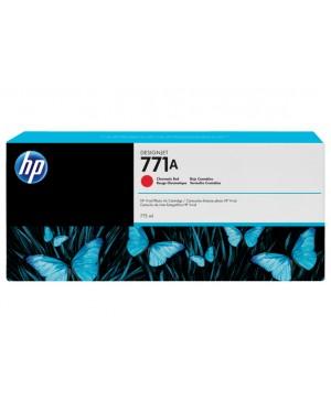 B6Y16A - HP - Cartucho de tinta 771A vermelho croma¡tico Designjet