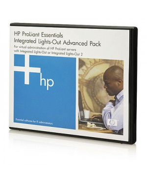 BD505A - HP - Software/Licença iLO Advanced 1 Server License with 3yr 24x7 Tech Support and Updates