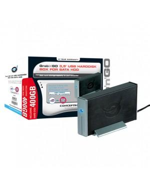 "C10-093 - Conceptronic - HD externo 3.5"" SATA II 400GB 7200RPM"