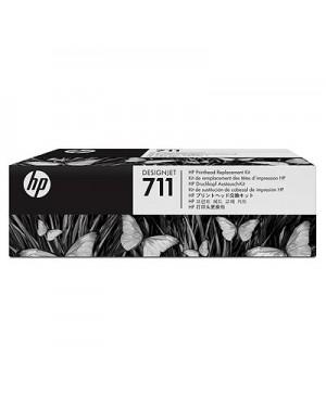 C1Q10A - HP - Cabeca de impressao preto ciano magenta amarelo Designjet T120 & T520