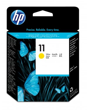 C4813A - HP - Cabeca de impressao 11 amarelo Color Inkjet CP 1700 Business 1000 1100 1200 2200 2300 26