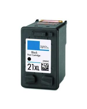 C9351C - HP - Cartucho de tinta 21XL preto Deskjet 3910 3920 3930 3940 D1311 D1320 D1330 D1341 D1360