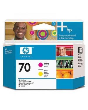 C9406A - HP - Cabeca de impressao pigmento magenta amarelo Photosmart Pro B9180 B8850 Designjet Z2100 Z3100