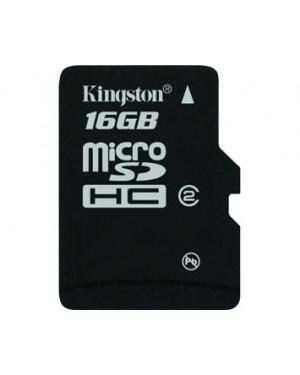 SDC4/16GB - Kingston - Cartão de Memória 16GB MicroSDHC Class 4 Flash Card