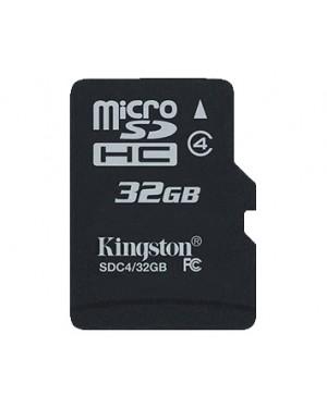 SDC4/32GB - Kingston - Cartão de Memória 32GB SDHC Class 4 Flash Card