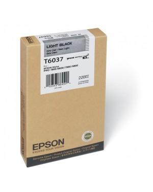 T603700 - Epson - Cartucho de Tinta UltraChrome Preto claro