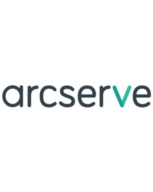 CAUDPLXT50W01G4 - Arcserve - UDP v5 Premium Plus Edition (formerly RPO-RTO) Managed Capacity 1 TB version upgrade or crossgrade from existing socket, managed capacity, components and modules Product plus 1 Year Enterprise Maintenance CAUDPLXT50W01