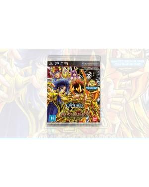 NB000054PS3 - Outros - Cavaleiro do Zodiaco Bravos Soldados PS3 Namco Bandai