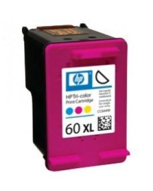 CC644W - HP - Cartucho de tinta 60XL ciano magenta amarelo Photosmart D110