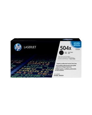 CE250X - HP - Toner 504X preto Color LaserJet CM3530 CM3530fs