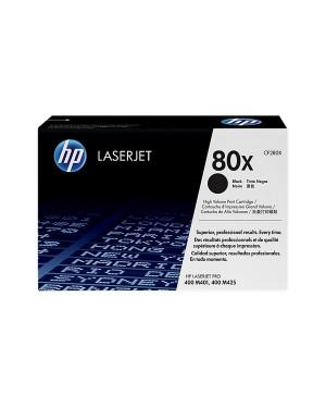 CF280X - HP - Toner 80X preto Laserjet Pro 400 M401 M425