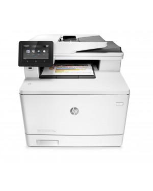 CF377A - HP - Impressora multifuncional LaserJet MFP M477fnw laser colorida 28 ppm A4 com rede sem fio