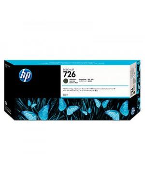 CH575A - HP - Cartucho de tinta 726 preto Designjet T1200 HD T2300 eMFP