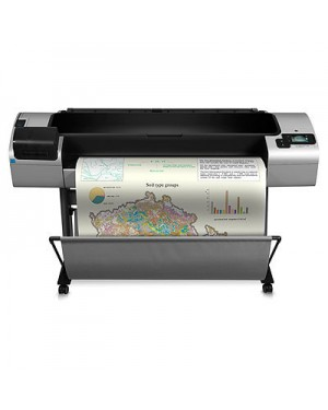 CR652A - HP - Impressora plotter Designjet T1300 44-in PostScri 39 sec/page A0