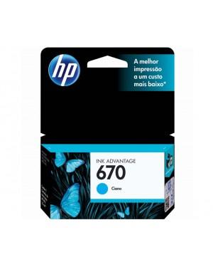 CZ114AB - HP - Cartucho de tinta ciano Deskjet Ink Advantage 3525