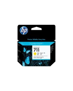 CZ136A - HP - Cartucho de tinta 711 amarelo Designjet T120 T520