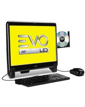 """20525U-W8SL - AOC - Desktop AIO EVO LED 20"""""""
