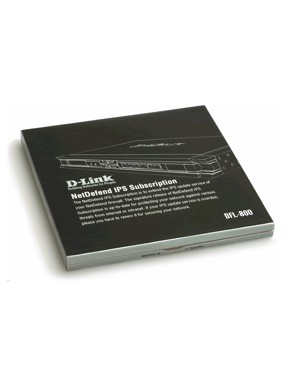 DFL800IPS12 - D-Link - Software/Licença  licença/upgrade de software