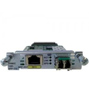 EHWIC-1GE-SFP-CU= - Cisco - EHWIC 1 port dual mode SFP(100M/1G) or GE(10M/100M/1G) Spare