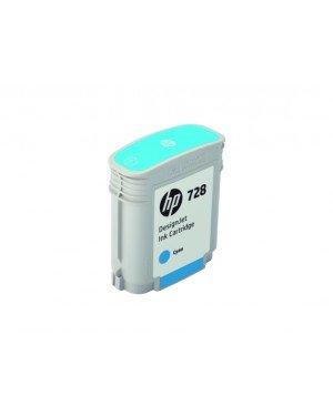 """Cartucho de tinta 728 ciano DesignJet T730 36 T830 - HP - F9J63A"""""""