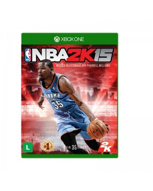 TT000118XB1 - Outros - Game NBA 2K15 Xbox One Take 2