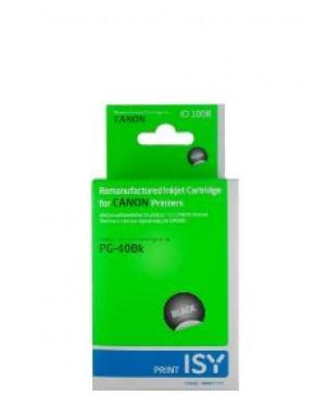 ICI 1008 - ISY - Cartucho de tinta preto Canon PG40