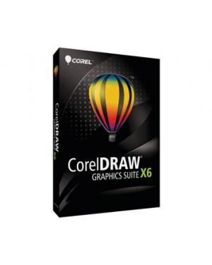 CDGSX6ESBPHBBAM - Corel - Draw Graphics Suite X6 ES/BP