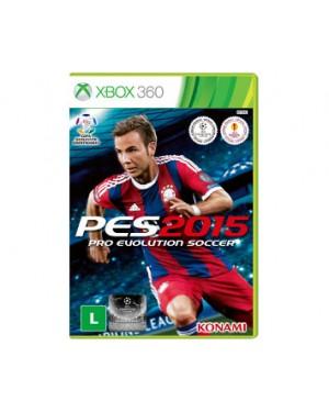 KO000001XB2 - Outros - Jogo Pro Evolution Soccer 2015 Xbox 360 Konami