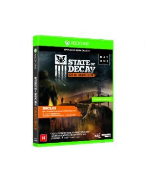 4XZ-00005 - Microsoft - Jogo State of Decay Xbox One Day Edition