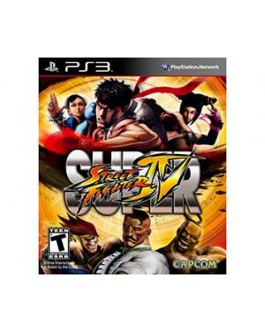 CP1364BN - Outros - Jogo Super Street Fight IV PS3 Capcom