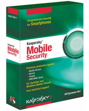KL4025XARTJ - Kaspersky Lab - Software/Licença Mobile Security 7.0 Enterprise, 100-149u, 3Y