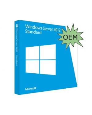 P73-05322* - Microsoft - Licença de Uso Win Svr STd 2012 x64 BRZLN 1pk DSP