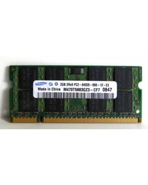 M470T5663QZ3-CF7 - Samsung - Memoria RAM 1x2GB 2GB DDR2 800MHz