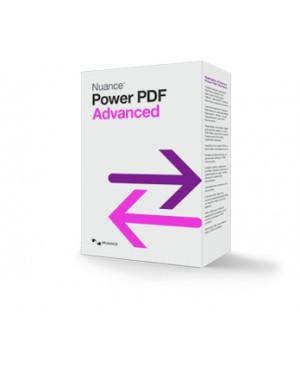 MNT-AV09G-FBB-1.0-I - Nuance - Software/Licença Power PDF Advanced, EDU, DE, 10000-19999u