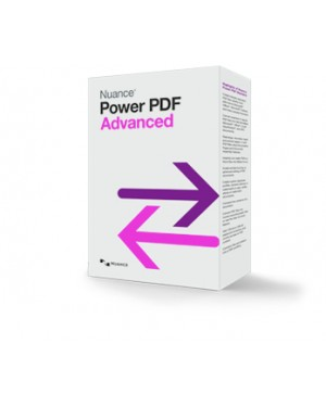 MNT-AV09T-FBB-1.0-E - Nuance - Software/Licença Power PDF Advanced, EDU, IT, 500-999u
