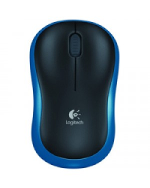 910-003636 - Logitech - Mouse sem Fio M185 Azul
