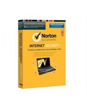 LIC 21299372 - Symantec - Norton Internet Security 5 Usuários