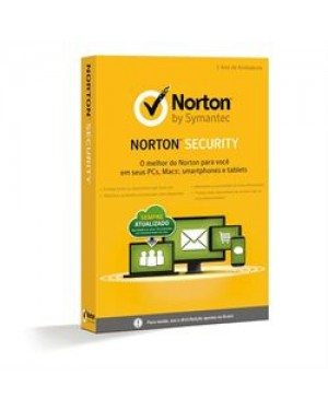 LIC 21334348 - Symantec - Norton Security 1 Usuário 5 Dispositivo