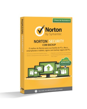 LIC 21334337 - Symantec - Norton Security Com Backup 25GB 1 Usuário 10 Dispositivos