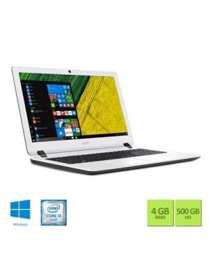 NX.GMHAL.001 - Acer - Notebook ES1-572-347R i3-6006U 4GB 500GB W10 Branco