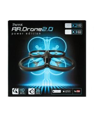 PF721107BJ - Outros - Drome Ar Drome WiFi 11.11m/s GPS Range 50 Meters Camera 720p 30FPS Parrot