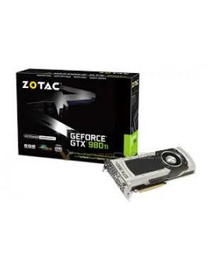 ZT-90501-10P - Zotac - Placa de Vídeo Geforce GTX 980TI 6GB DDR5 384Bits