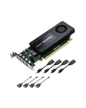 VCQK1200DVI-PORPB - PNY - Placa de Vídeo Quadro K1200 4GB DDR5 128BITS
