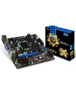 H81M-E33 - MSI - Placa Mãe Core i3-i5-i7