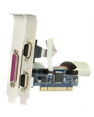 7898937710146 - Naxos - Placa Multiserial PCI 2 Seriais DB09M e 1 paralela DB25F 12 cm