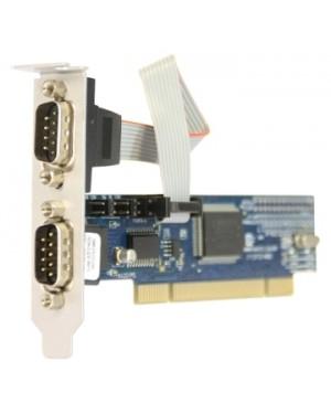 7898937710283 - Naxos - Placa Serial PCI 2 Seriais DB09m 8cm